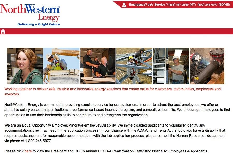 Job Listings - Northwestern Energy Jobs